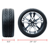 "Kohree 4 Sets 29""-32"" Tire Diameters RV Wheel Waterproof PVC Coating Tire Wheel Covers - kohree"