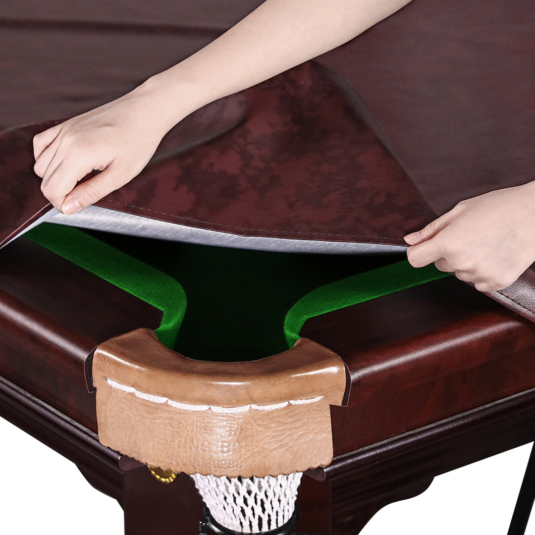 Kohree 8 Foot Fitted Waterproof & UV ProtectionHeavy Duty Leatherette Billiard Pool Table Cover - kohree