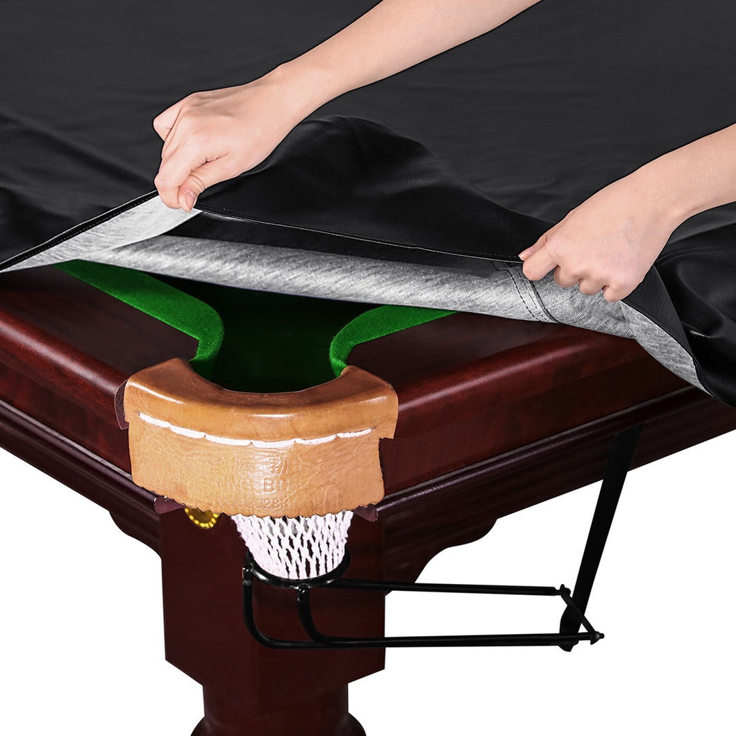 Kohree 9 Foot Fitted Waterproof & UV ProtectionHeavy Duty Leatherette Billiard Pool Table Cover - kohree