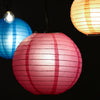 "Kohree 16Pcs Colorful Hanging Paper Lantern, Chinese Japanese Decorative Paper Ball Lanterns Lights Party Decorations for Backyard Christmas Birthday Wedding Baby Shower Size of 4"" 6"" 8"" 10"""