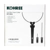 Kohree Electric Hot Wire Foam Cutter, 3 in 1 Styrofoam Knife Cutting Tool, 100-240V /18W - kohree