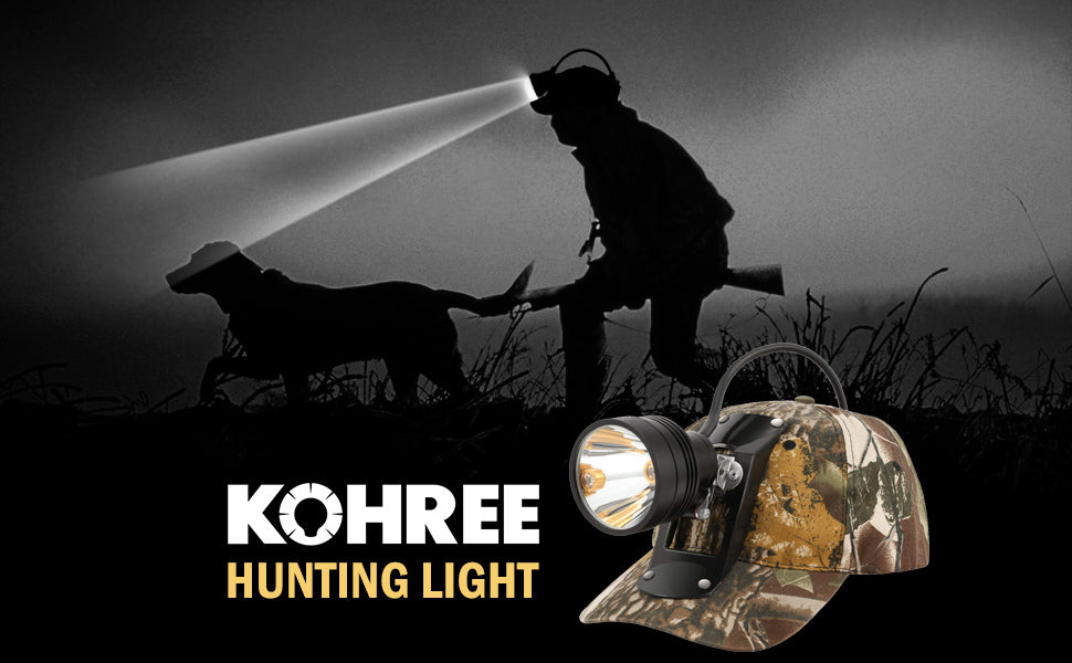 KOHREE hunting hedlamp
