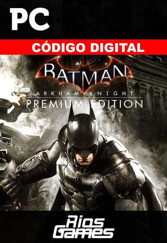 RiosGames PC Steam Batman arkham knight - Steam