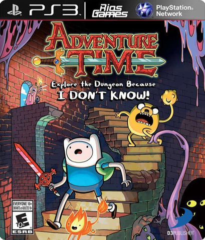 RiosGames PS3 Adventure Time Explore the Dungeon