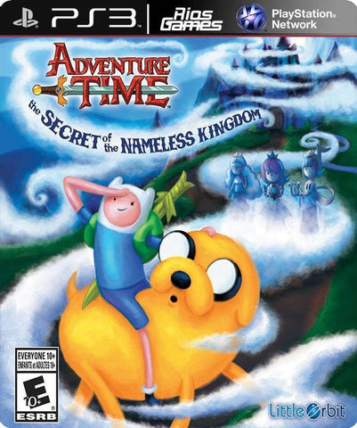 RiosGames PS3 Adventure Time: The Secret of the N.K.