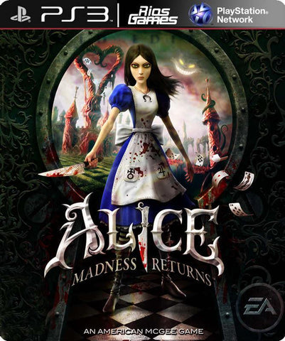 RiosGames PS3 Alice: Madness Returns