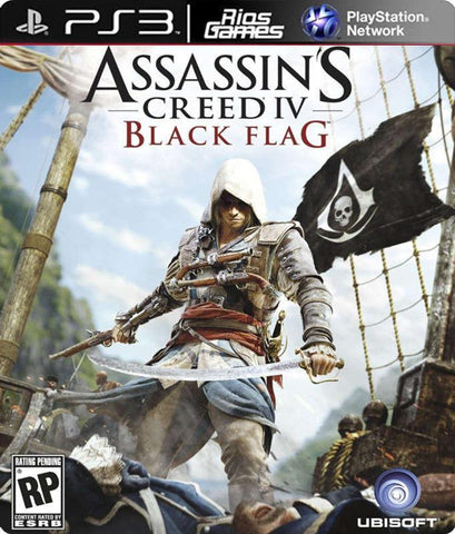 RiosGames PS3 Assassin's Creed IV Black Flag