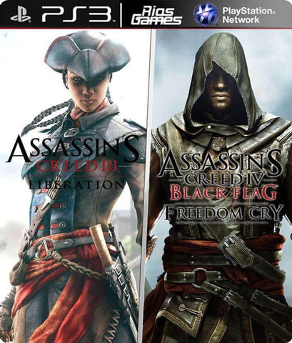 RiosGames PS3 Assassin's Creed Liberation + Freedom Cry