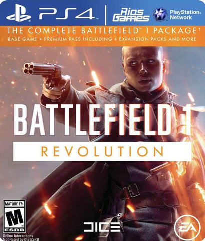 RiosGames PS3 Battlefield 1 Revolution