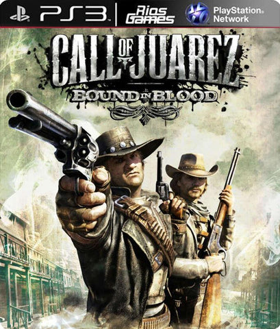 RiosGames PS3 Call of Juarez Bound in Blood
