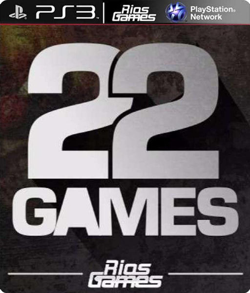 RiosGames PS3 COMBO 22 GAMES