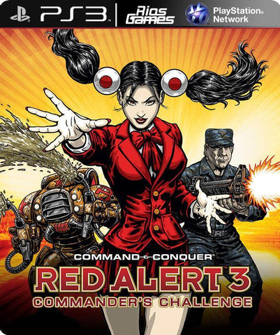 RiosGames PS3 Command Conquer Red Alert 3 Commander's Challenge