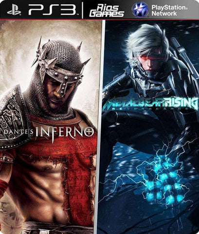 RiosGames PS3 Dantes Inferno + MG Rising Revengeance