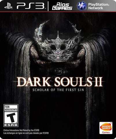 RiosGames PS3 DARK SOULS II: Scholar of the First Sin