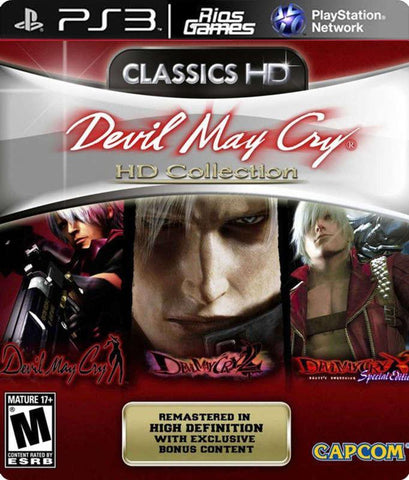 RiosGames PS3 DEVIL MAY CRY HD COLLECTION