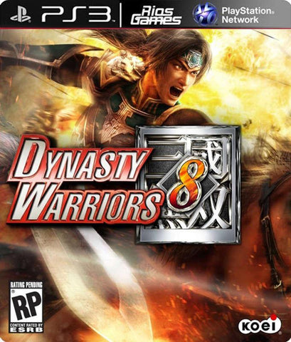 RiosGames PS3 Dynasty Warriors 8