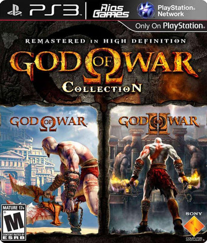 RiosGames PS3 God of War Collection