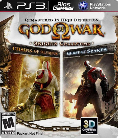 RiosGames PS3 God of War origins Collection