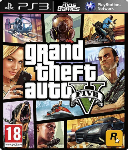 RiosGames PS3 Grand Theft Auto V
