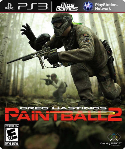 RiosGames PS3 Greg Hastings PaintBall 2