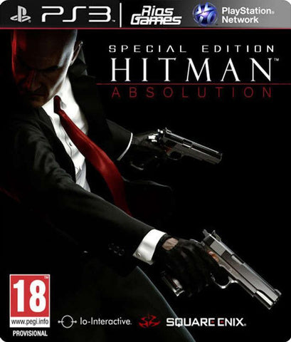 RiosGames PS3 Hitman: Absolution special edition