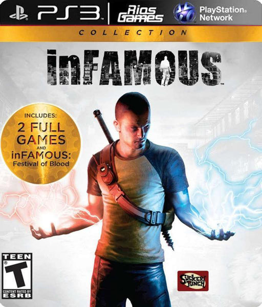 RiosGames PS3 Infamous Collection