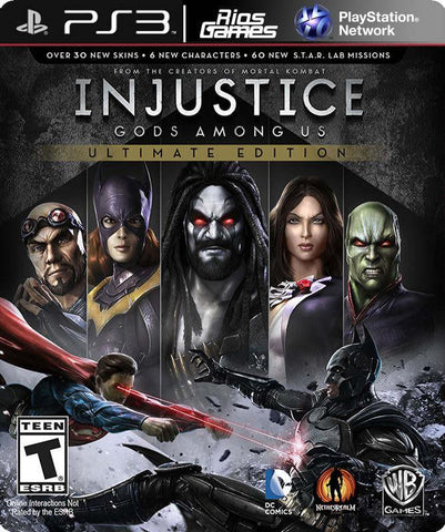 RiosGames PS3 Injustice: Gods Among Us