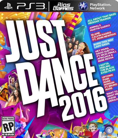 RiosGames PS3 Just Dance 2016