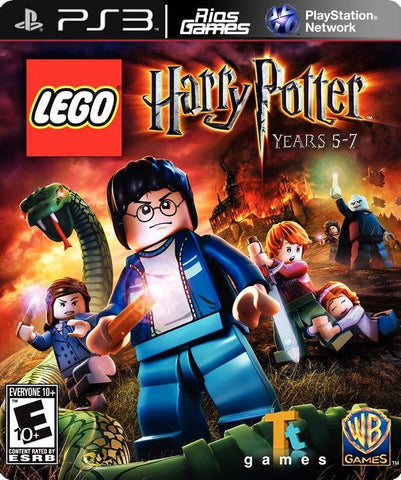 RiosGames PS3 LEGO Harry Potter: Years 5-7