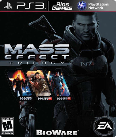 RiosGames PS3 MASS EFFECT TRILOGY