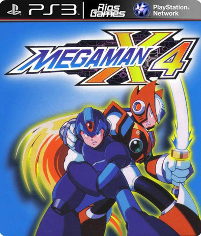 RiosGames PS3 Mega man X4