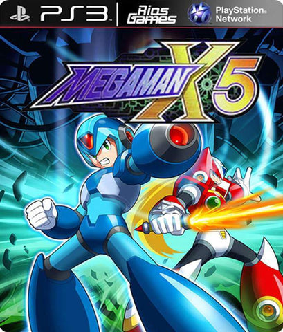 RiosGames PS3 Mega man X5
