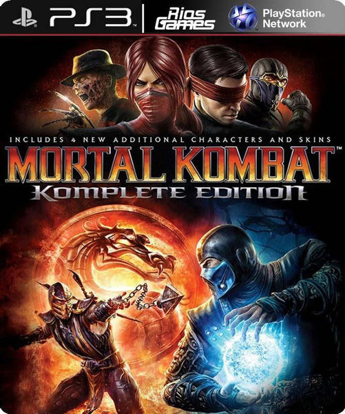 RiosGames PS3 Mortal Kombat Komplete Edition