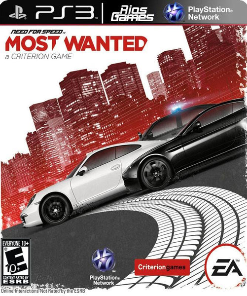 RiosGames PS3 Need For Speed Most Wanted