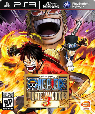 RiosGames PS3 One Piece: Pirate Warriors 3