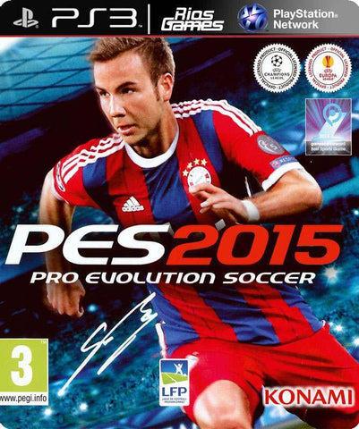 RiosGames PS3 Pro Evolution Soccer 2015
