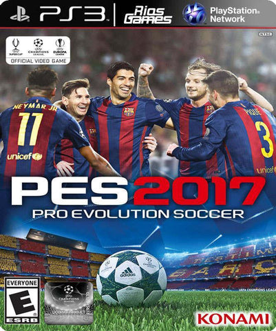RiosGames PS3 Pro Evolution Soccer 2017