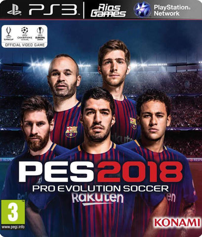 RiosGames PS3 Pro Evolution Soccer 2018