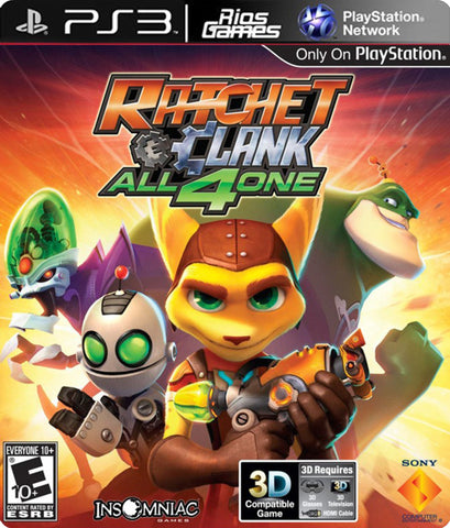 RiosGames PS3 Ratchet & Clank: all 4 one