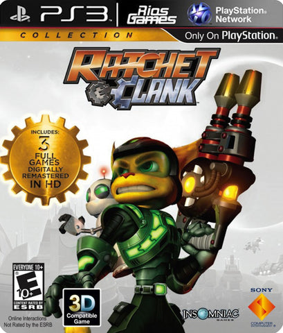 RiosGames PS3 Ratchet & Clank: Collection