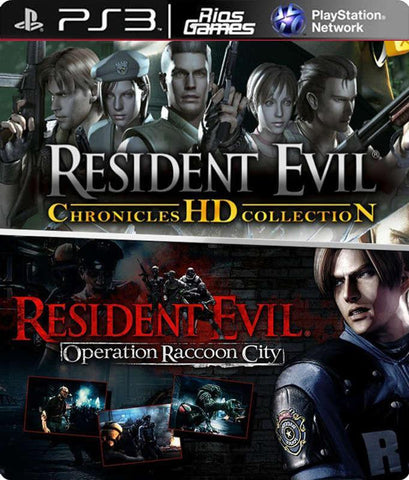 RiosGames PS3 RE Chronicles HD + Operation Raccon City