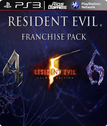 RiosGames PS3 Resident evil Franchise pack