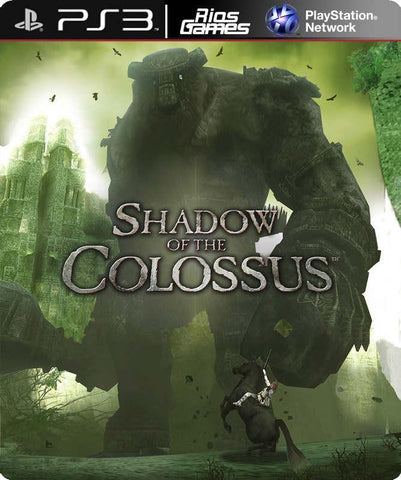 RiosGames PS3 Shadow of the Colossus (PS2 Classic)