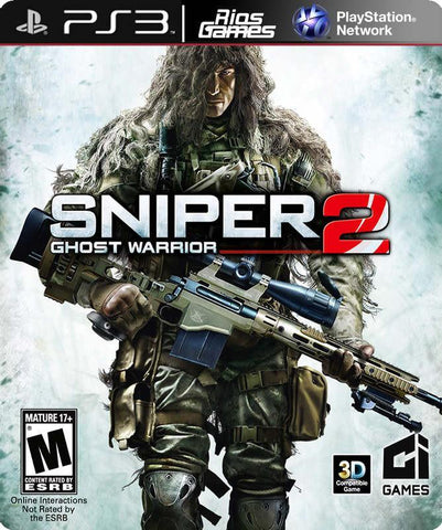 RiosGames PS3 Sniper Ghost Warrior 2