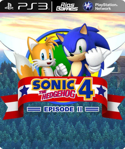 RiosGames PS3 Sonic The Hedgehog 4 Episode 2