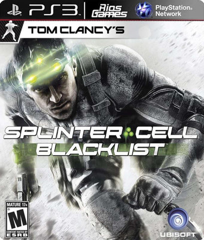 RiosGames PS3 Splinter Cell BlackList