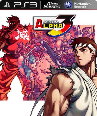 RiosGames PS3 Street Fighter Alpha 3