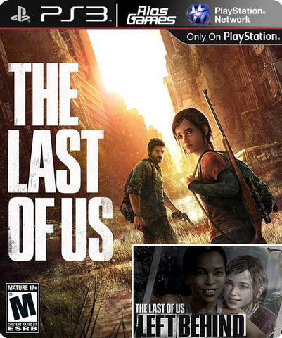 RiosGames PS3 The Last of US + DLC
