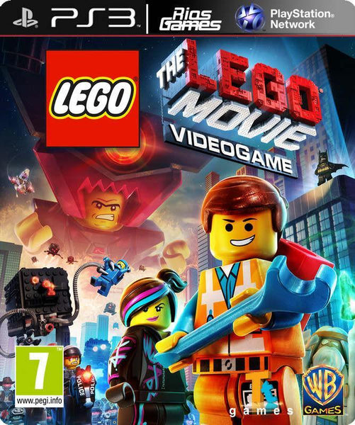 RiosGames PS3 The LEGO Movie Videogame