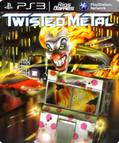 RiosGames PS3 Twisted Metal (PS1 Classic)